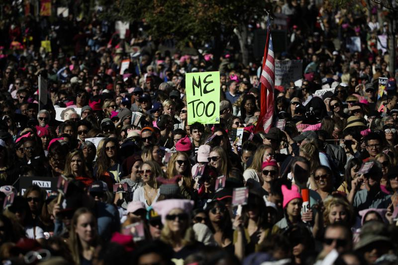 Women in Los Angeles last month protested  violence against women and sexual assault. A One Billion Rising event Friday in Bloomington aims to call attention to both issues. Experts say a billion women worldwide experience some form of violence.