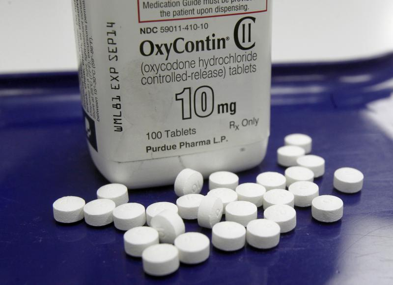 Oxycotin is a powerful painkiller often used in cancer treatment. Andrew Dewey says his doctor prescribed it to him for back pain. He was soon addicted.