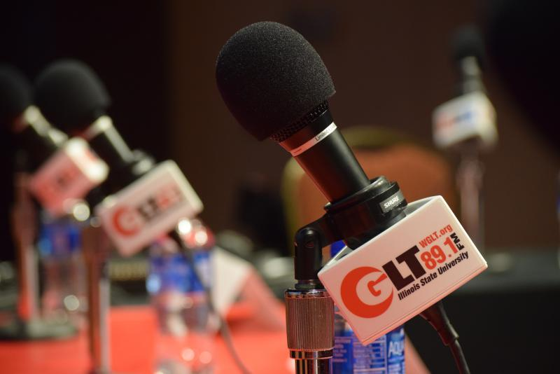 GLT microphones at an event