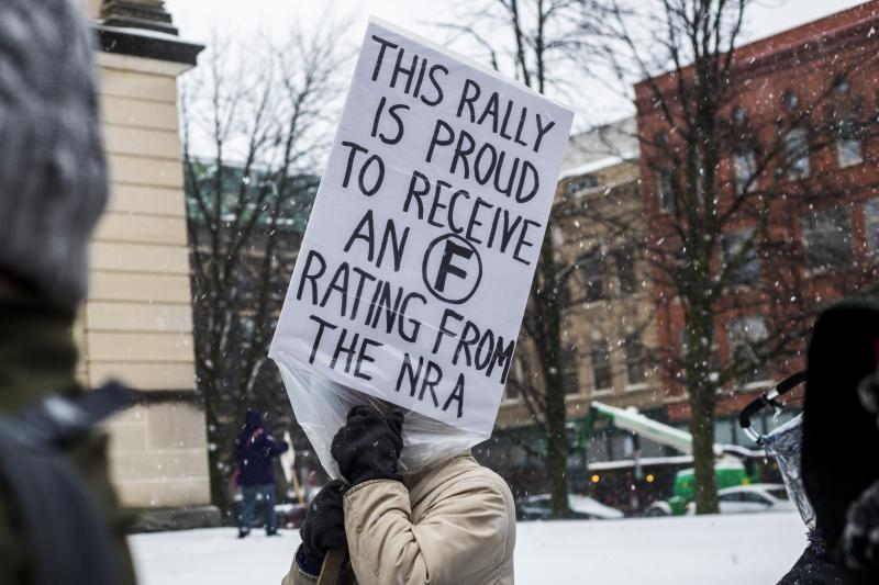 Highlights from the March For Our Lives rally Saturday, March 24, 2018, in downtown Bloomington.