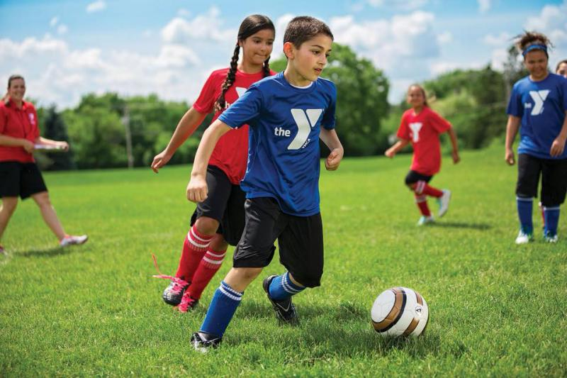 Youth soccer at the YMCA