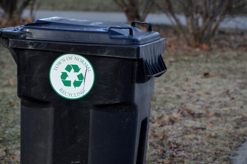 Midwest Fiber will handle drop-box recycling, while the Town of Normal will continue to offer curbside pickup.