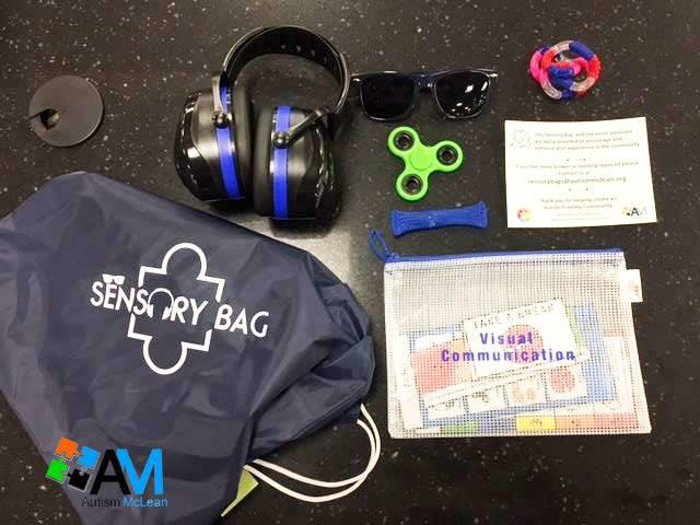 Sensory bags are now available at the Bloomington Public Library in the Children's Department.