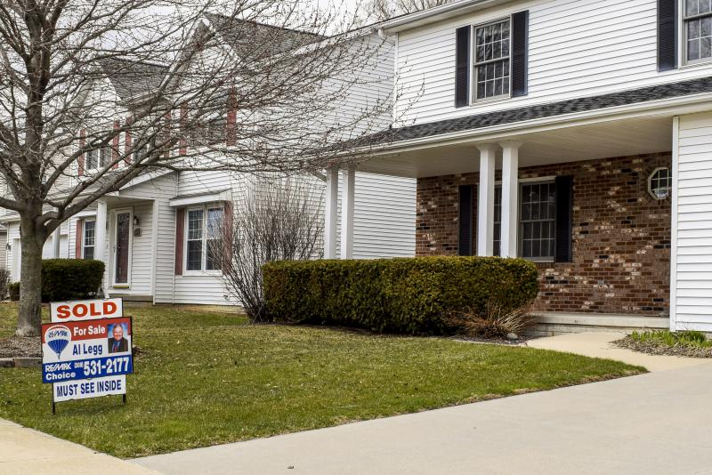 There were 222 homes sold in March, up from 210 sales in March 2017, according to the Bloomington-Normal Association of Realtors.
