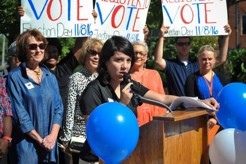 Jenn Carillo is planning a run for Bloomington City Council.
