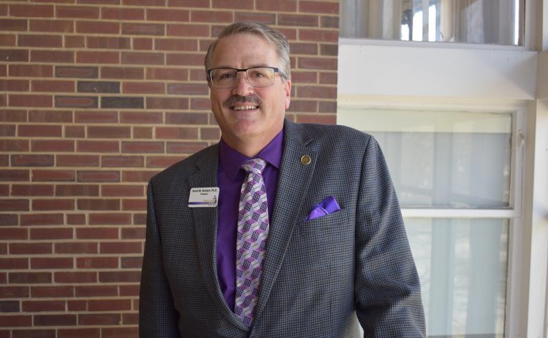 Lincoln College President David Gerlach.