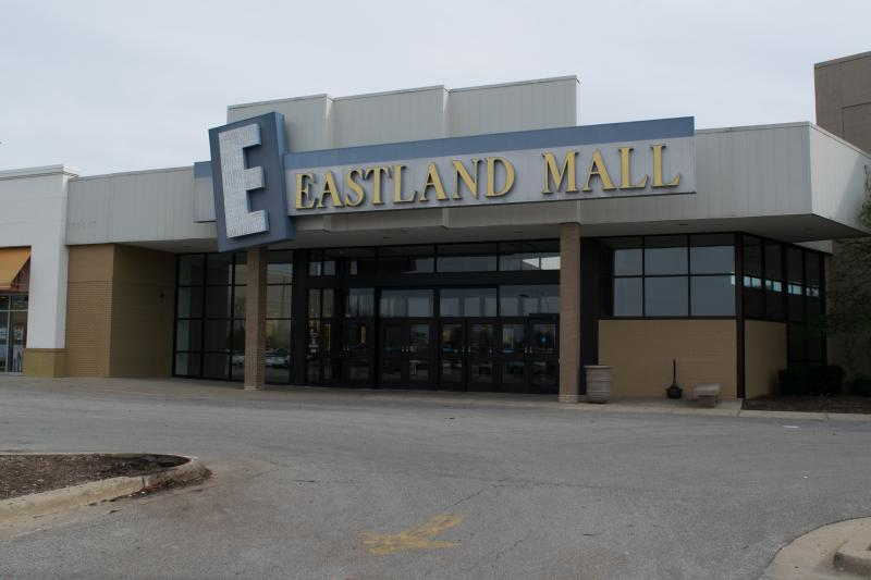 Eastland Mall in Bloomington.