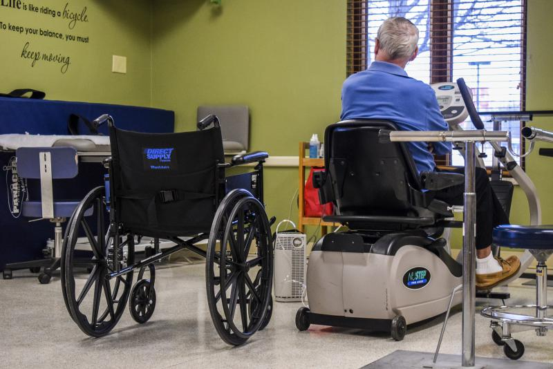 U.S. healthcare policy has heavily invested in long-term care facilities and underinvested in the home care sector, according to sociologist and author Chris Wellin of Illinois State University.