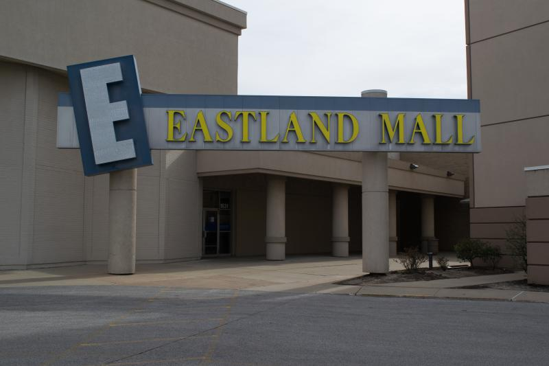 an image of the mall entrance