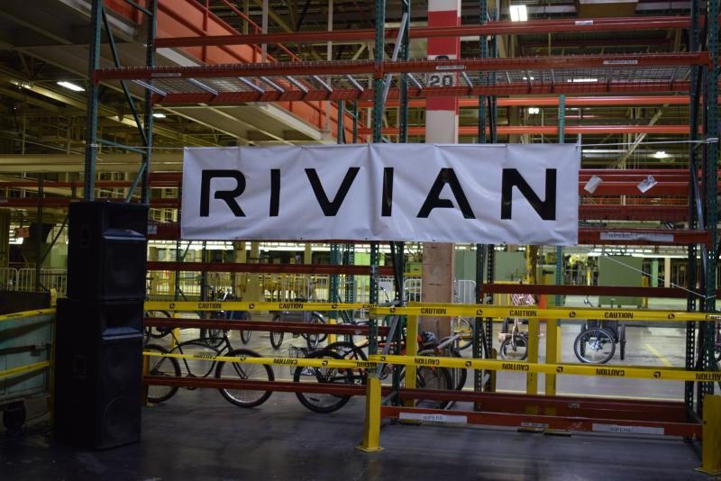 Rivian was the host of last weekend's 48in48 event in Normal.