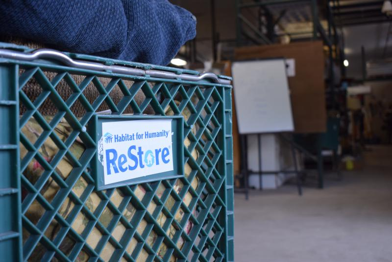 The old ReStore building will now be used for home improvement items like doors and windows, building materials, and tools.