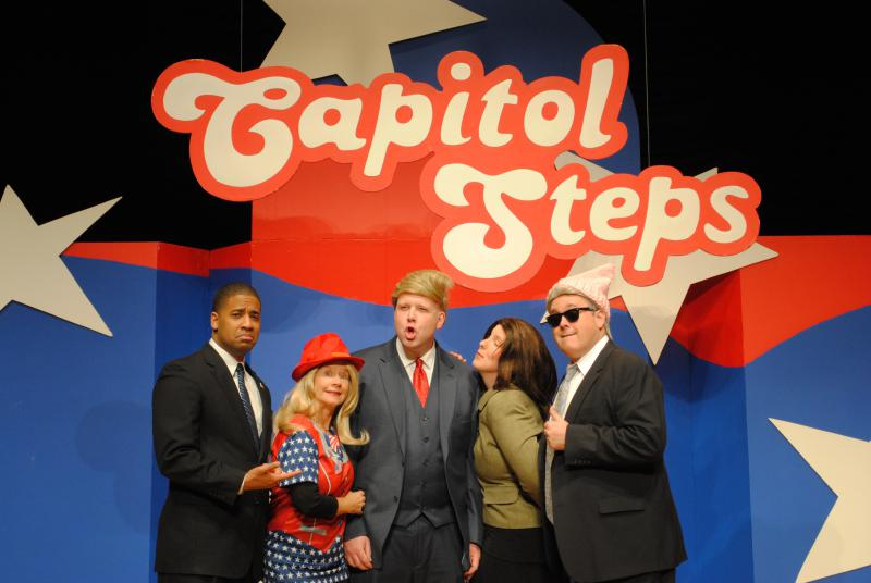 "Capital Steps perform during ""Orange Is The New Barack"""