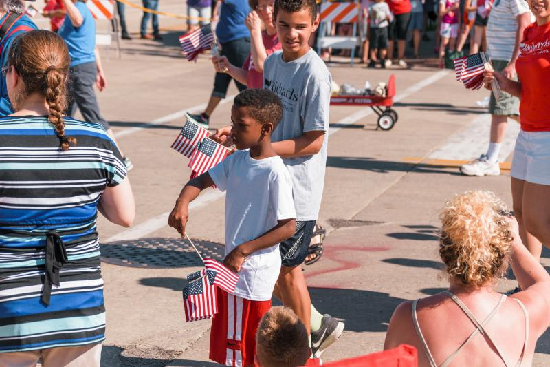 Highlights from the Memorial Day parade in Bloomington on Monday, May 28, 2018.