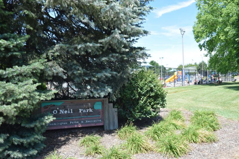 O'Neil Park is located at 1515 W. Chestnut St. on Bloomington's west side.