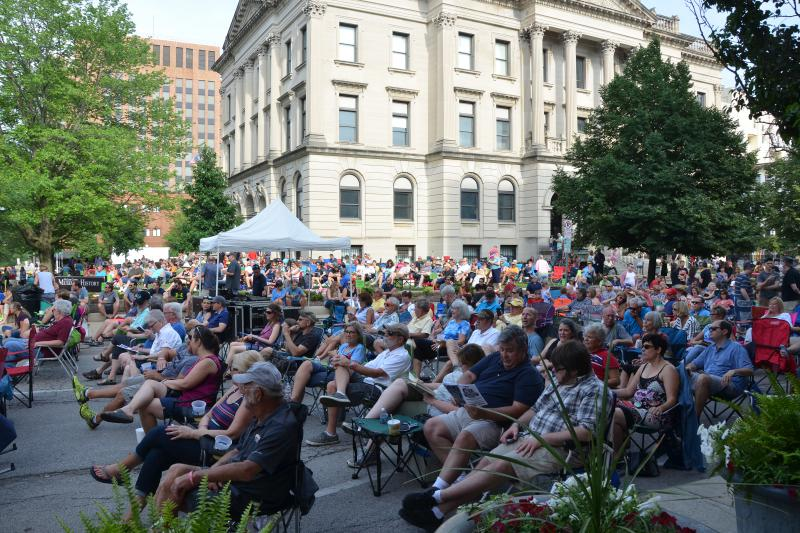 The crowd enjoys the GLT Summer Concert on Saturday, June 9, 2018.