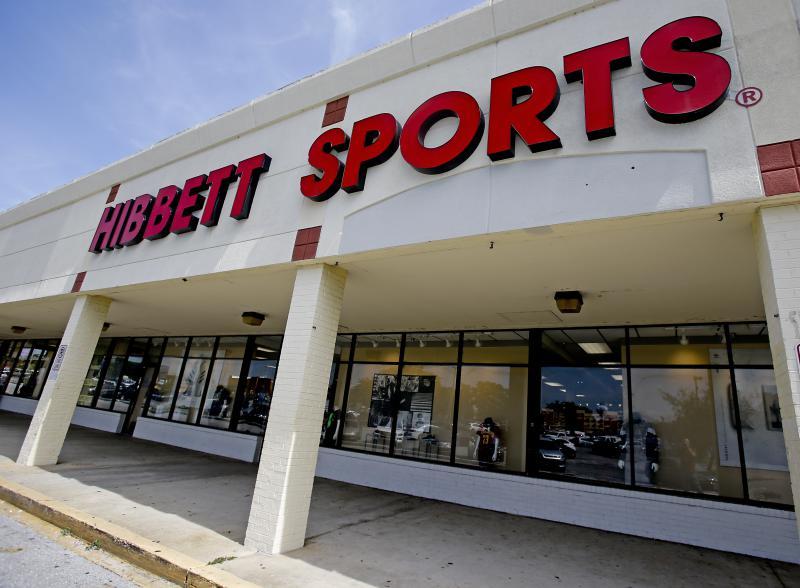 A Hibbett Sports store in Orlando, Fla.