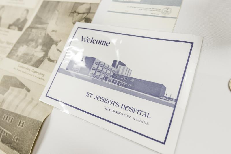 OSF St. Joseph Medical Center time capsule