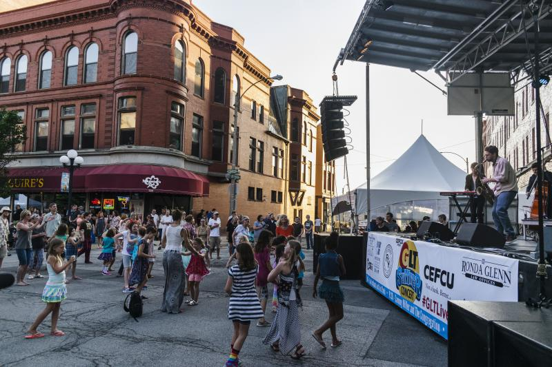 The GLT Summer Concert was cited Monday as an example of a major cultural attraction that's outside the Bloomington Center for the Performing Arts area. It's held on the courthouse square downtown each year.