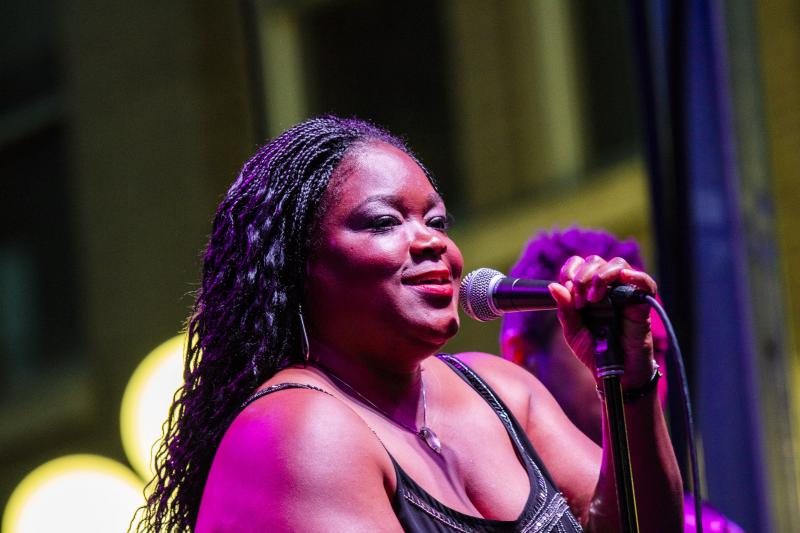 Shemekia Copeland performs at the GLT Summer Concert on Saturday, June 9, 2018.