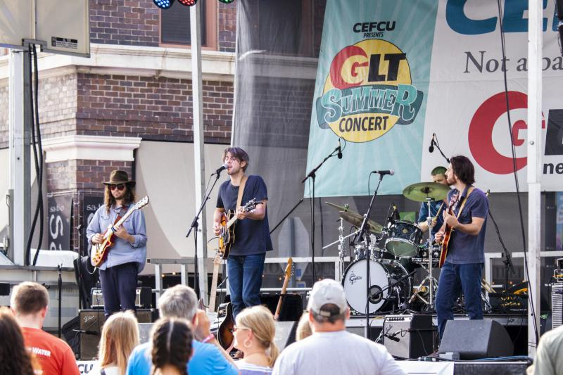 Dan Hubbard and his band perform at the GLT Summer Concert on Saturday, June 9, 2018.