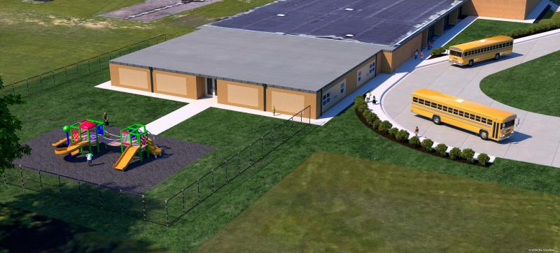 The new addition coming to Colene Hoose Elementary School in Normal.