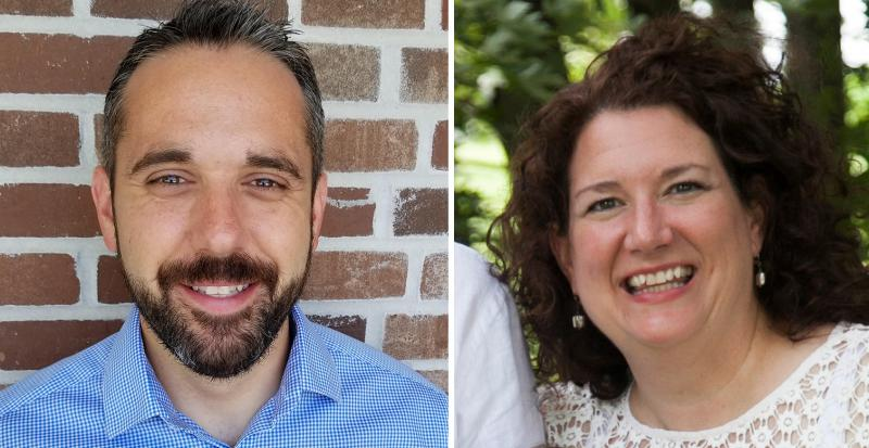 Alan Kalitzky and Amy Roser have been picked to join the Unit 5 school board.