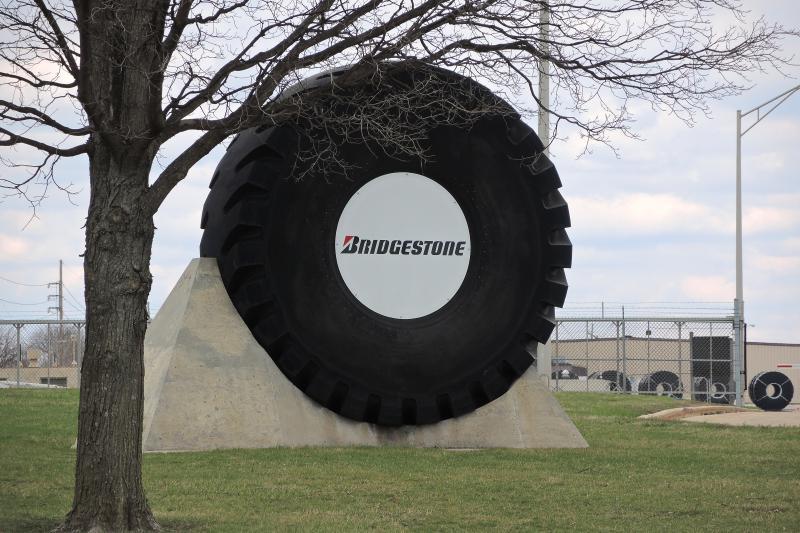 The Bridgestone plant on Fort Jesse Road currently has around 400 employees.