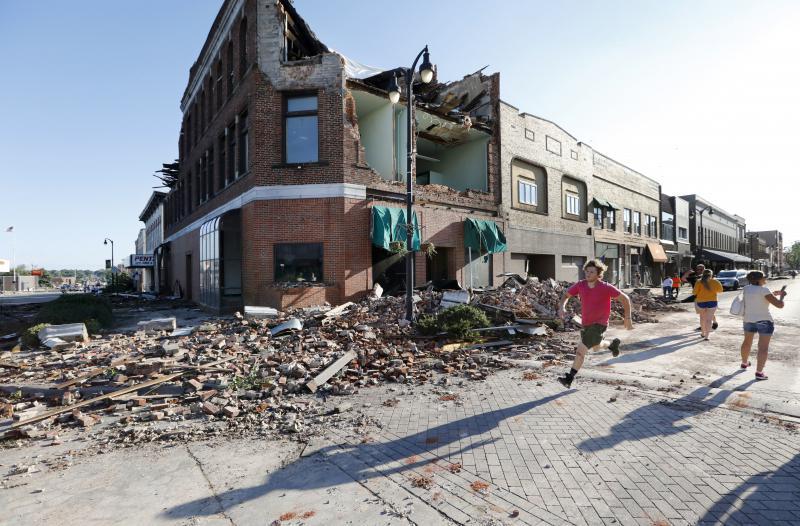 Marshalltown, Iowa tornado damage