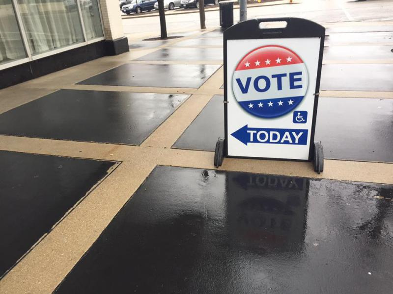 McLean County Republican and Libertarian parties jointly filed petitions for a referendum to appear on the November ballot dissolving the Bloomington Election Commission.