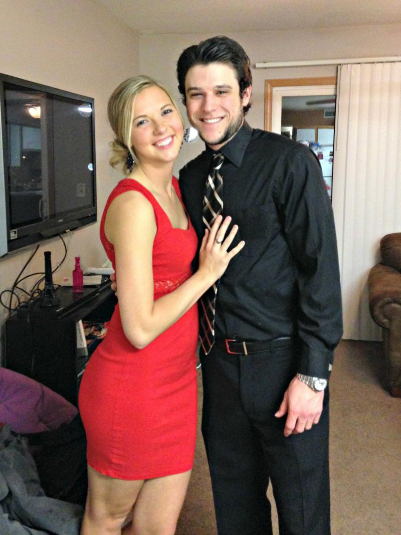 Allison Seys and Michael Collins