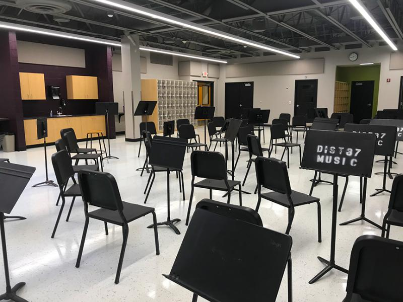 Orchestra Room at BHS