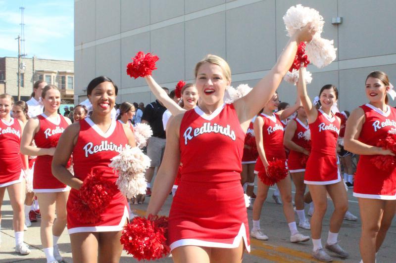 Cheerleader waves