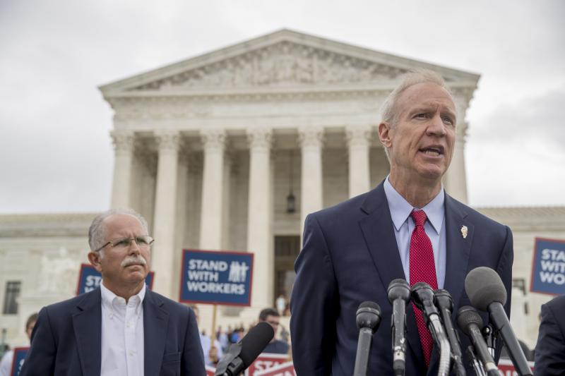 Rauner and Janus in D.C.