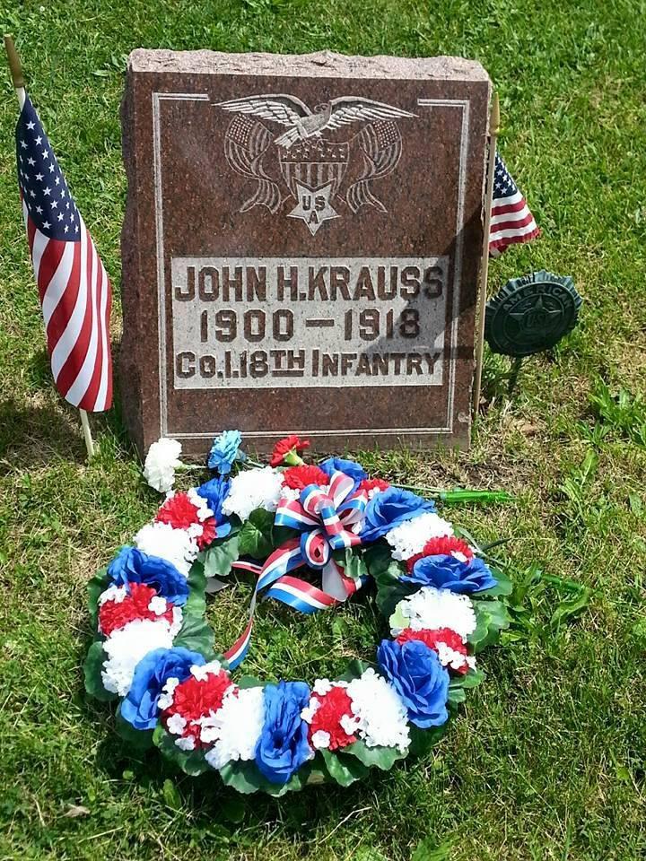 John H. Kraus grave