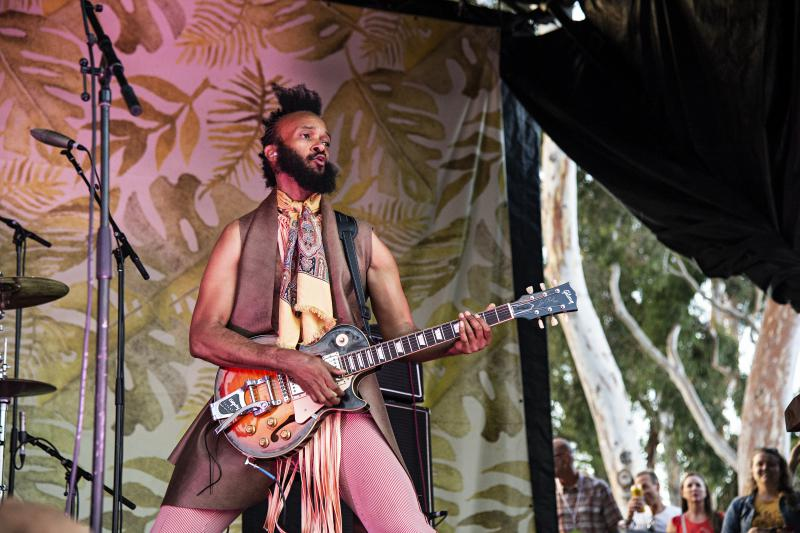 Fantastic Negrito performing at the Ohana Festival on Sept. 30, 2018, in Dana Point, CA.