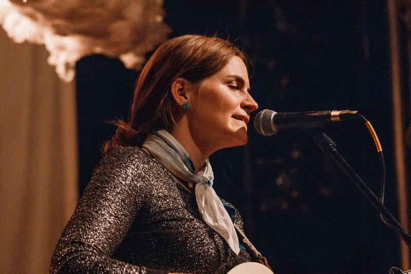 Erin Rae performs