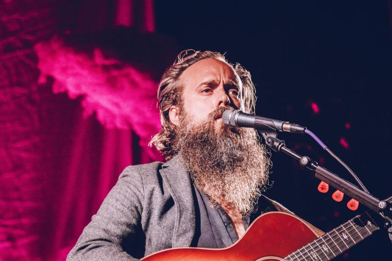 Iron & Wine performs