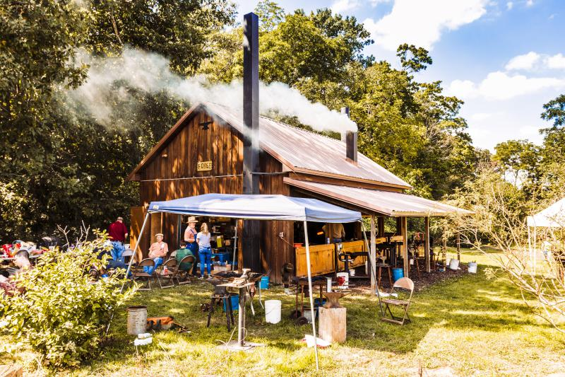 The Forge at the Sugar Grove Nature Center.