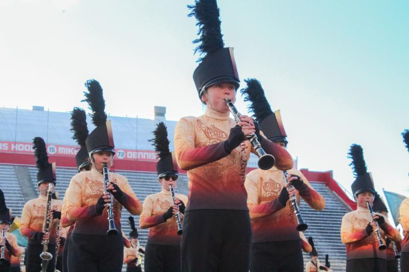 Normal Marching Band performs