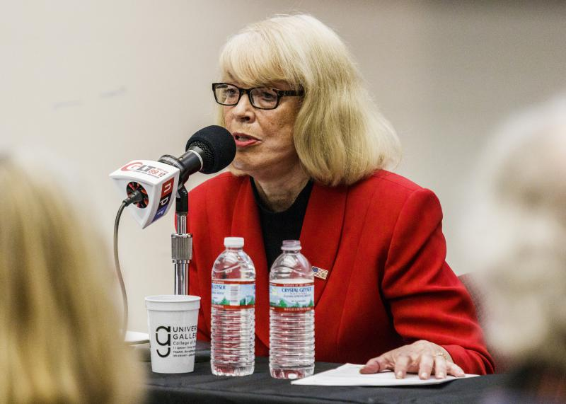 Kathy Michael speaks
