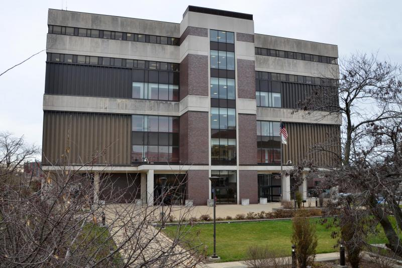 An image of the McLean County Law and Justice Center