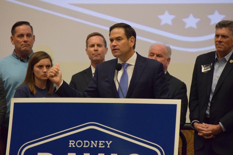 Marco Rubio at podium