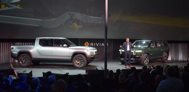 SUV and pickup