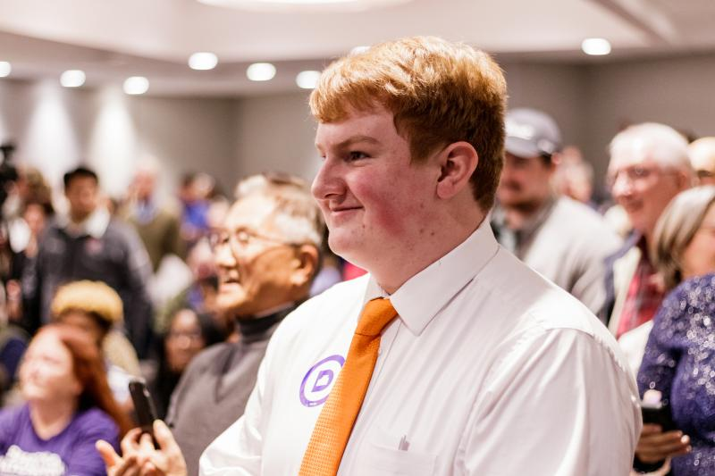 Democrat Logan Smith won election Tuesday night.