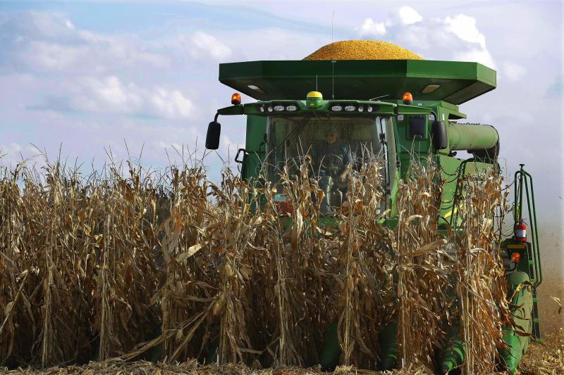 Combine with corn