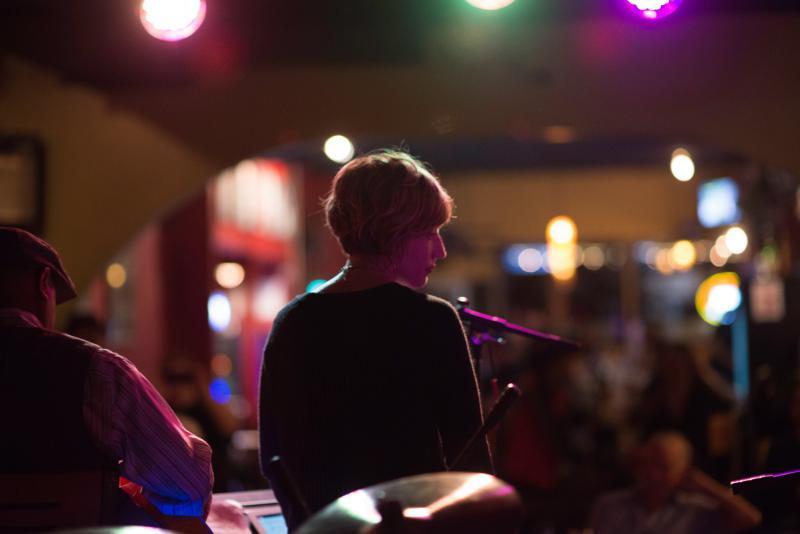Sara Quah performing at Jazz UpFront in Bloomington