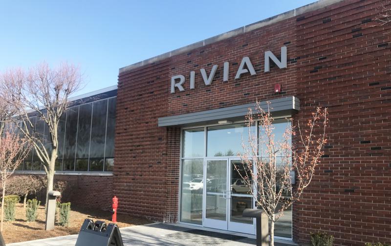 Rivian signage