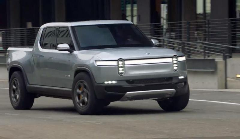 Rivian Automotive hopes its newly introduced electric pickup truck will become an entry into a future autonomous vehicle market.