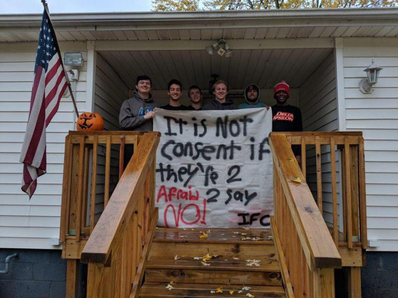 Banner: It is not consent if they're too afraid to say no