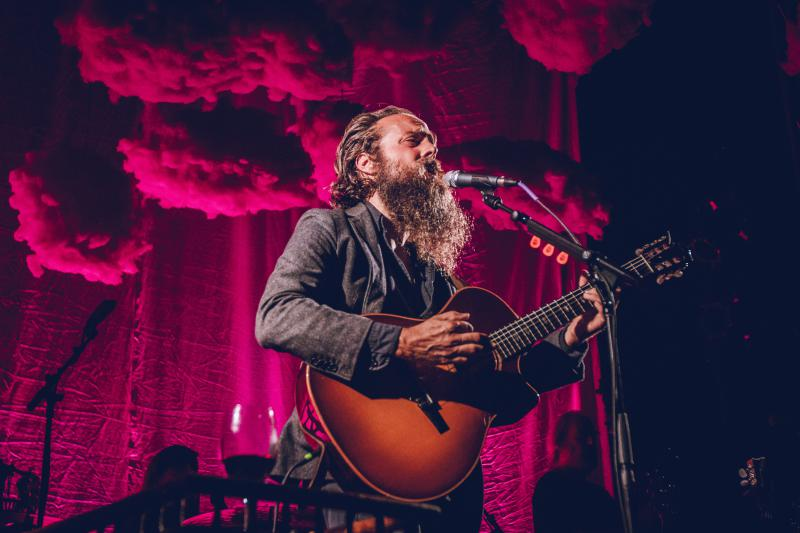 Iron and Wine performs